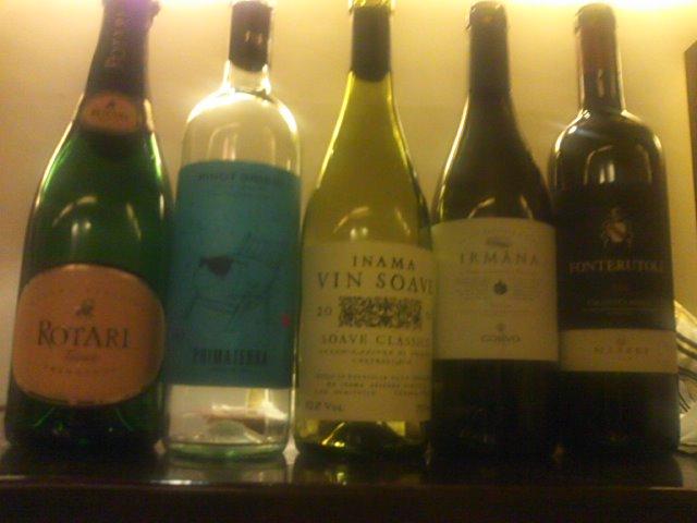 今月のワイン会のワインはこれ(o^-')b